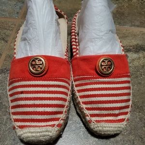 Gorgeous tory burch espadrilles